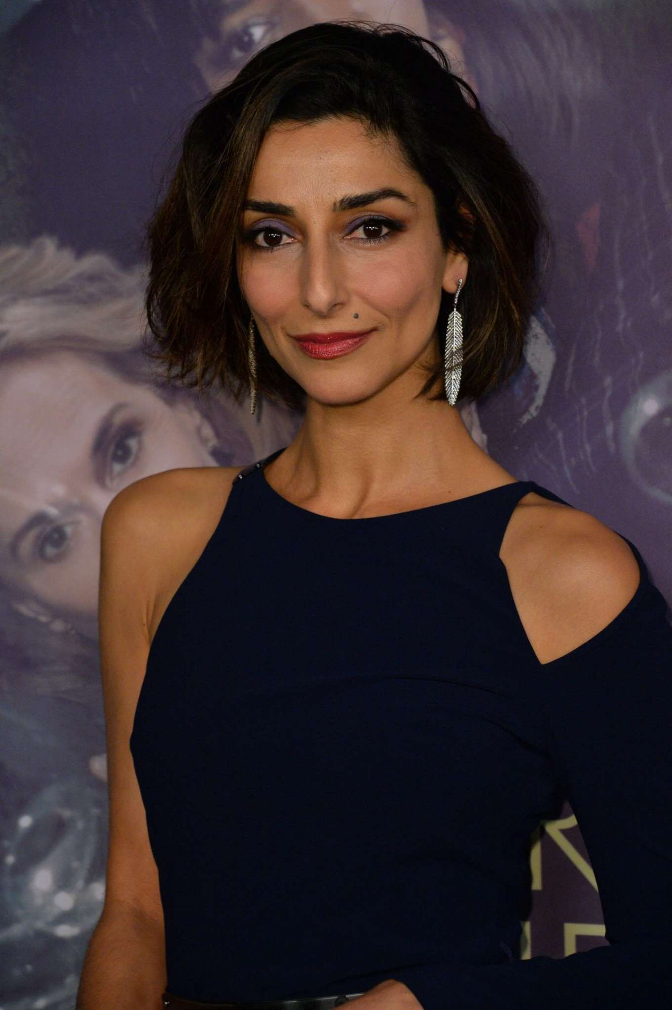 How tall is Necar Zadegan?