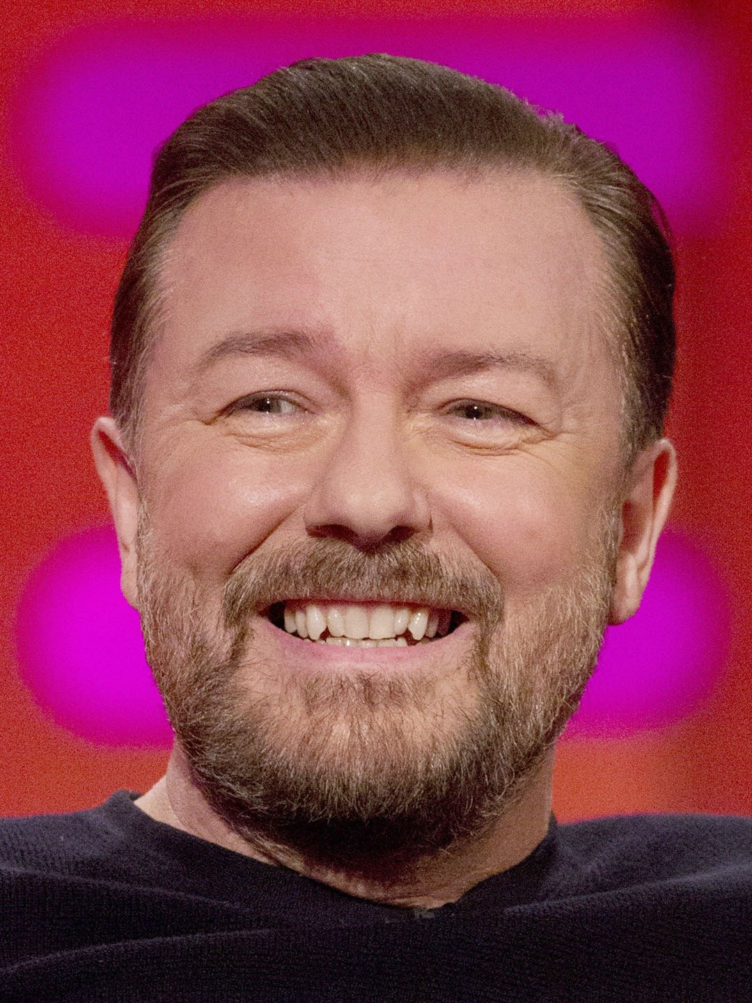 How tall is Ricky Gervais?