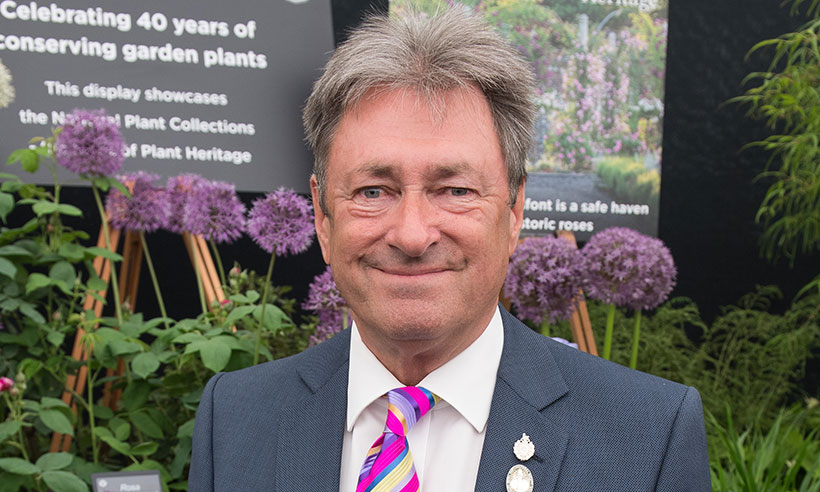 How tall is Alan Titchmarsh?
