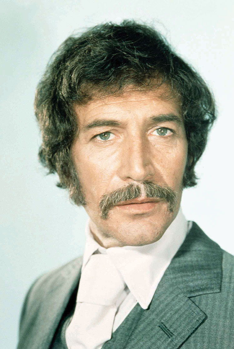 How tall is Peter Wyngarde?