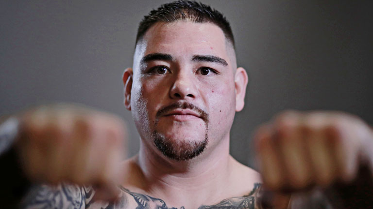 How tall is Andy Ruiz Jr?