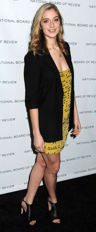 How tall is Caitlin Fitzgerald?