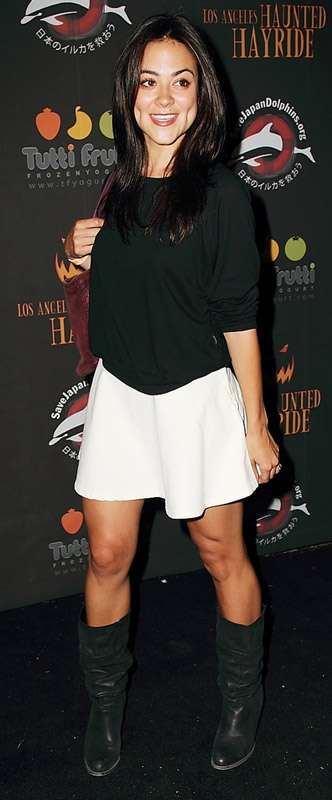 How tall is Camille Guaty?